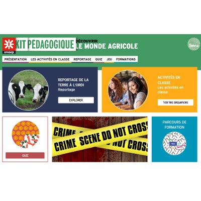 Un kit pédagogique de l'Onisep pour découvrir le secteur agricole