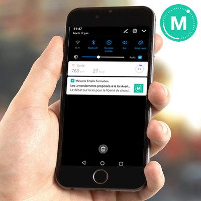 Recevez nos alertes info sur votre smartphone