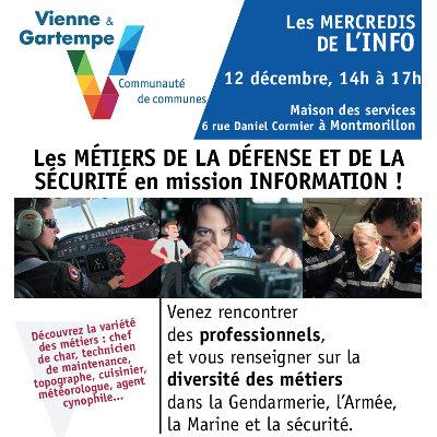 Forum Défense et Sécurité à Montmorillon