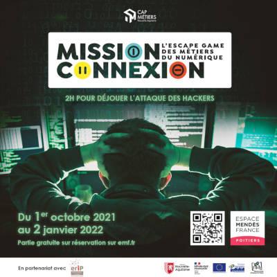 """L'Escape game """"Mission connexion"""" à Poitiers"""