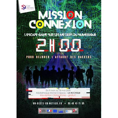 Mission Connexion, l'escape game sur les métiers du numérique, à La Rochelle