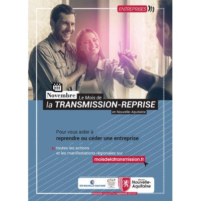 Mois de la Transmission-Reprise d'entreprise en Nouvelle-Aquitaine