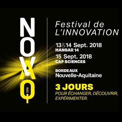 NOVAQ 2018 : festival de l'innovation en Nouvelle-Aquitaine