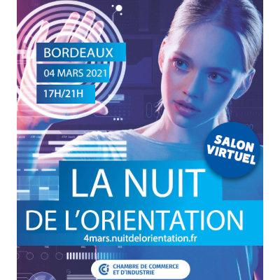Une Nuit de l'Orientation 100% à distance à Bordeaux