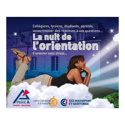 La 1ère Nuit de l'Orientation de Nouvelle-Aquitaine se déroulera à Rochefort