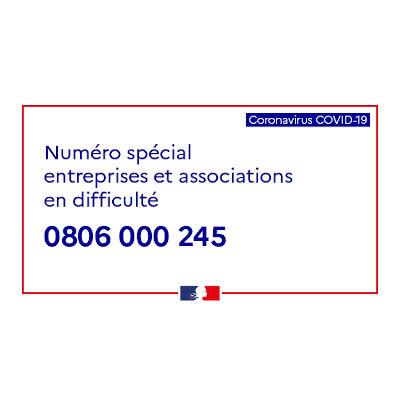 Covid-19 : Un nouveau numéro d'appel pour les entreprises