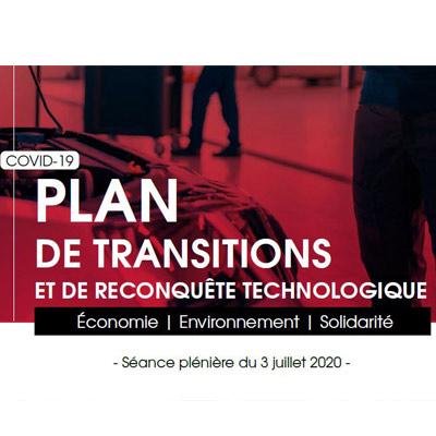 Plan régional de transitions et de reconquête technologique : fonds de rebond et passerelles vers l'emploi