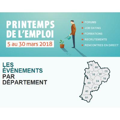Le Printemps de l'emploi en Nouvelle-Aquitaine
