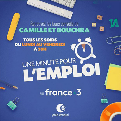 """Un nouveau programme """"Une Minute Pour l'Emploi"""" sur France 3"""