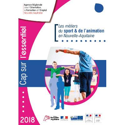 Données synthétiques sur les métiers du sport et de l'animation en Nouvelle-Aquitaine