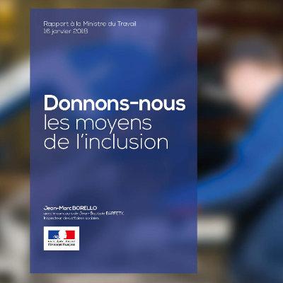 Les propositions du rapport Borello : parcours emploi compétences, IAE, contrats de pro accélérée...