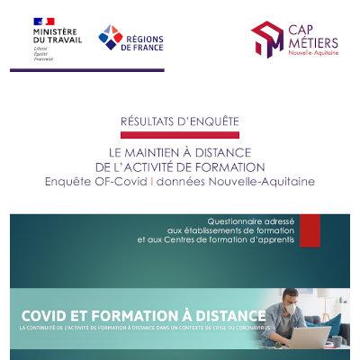 Résultats de l'enquête régionale sur le maintien à distance de l'activité de formation