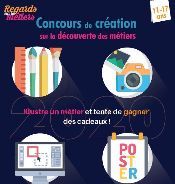 """Les inscriptions au concours """"Regards sur les métiers"""" sont ouvertes jusqu'au 31 janvier 2020"""