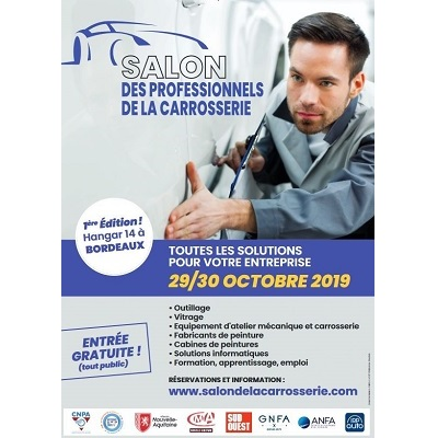 1er Salon des professionnels de la carrosserie à Bordeaux