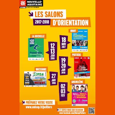 Les salons Orientation 2018 en Nouvelle-Aquitaine