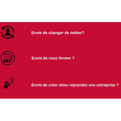 Rencontre virtuelle : Réussir sa reconversion professionnelle
