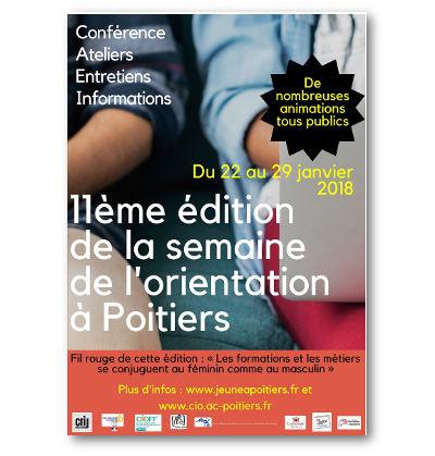11e édition de la semaine de l'orientation dans l'académie de Poitiers