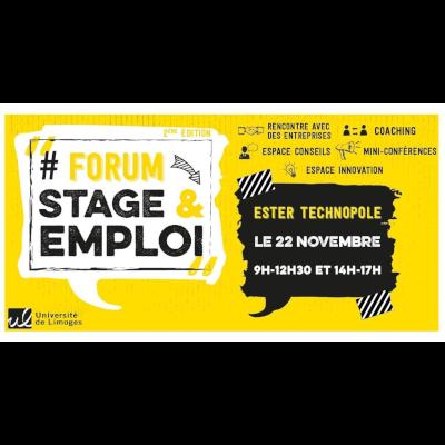 Forum Stage & Emploi à Limoges