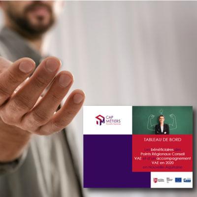 Les bénéficiaires des Points Régionaux Conseil VAE et d'un accompagnement VAE en 2020 en Nouvelle-Aquitaine