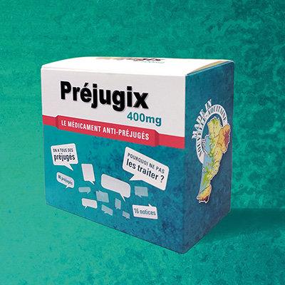 Présentation de Préjugix, le « médicament » anti-préjugés